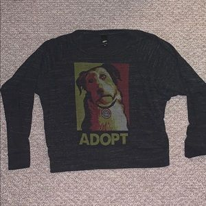"Obey ""Adopt"" Long Sleeve"